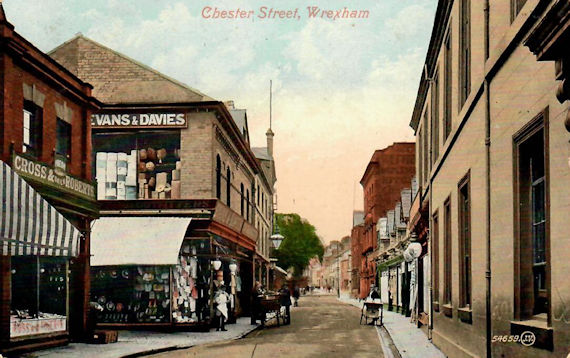 Chester Street Wrexham